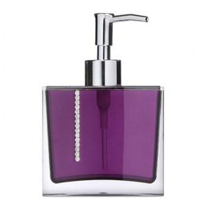 水鑽香水乳液罐紫