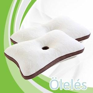 【Oleles 歐萊絲】頭頸安定枕2入組