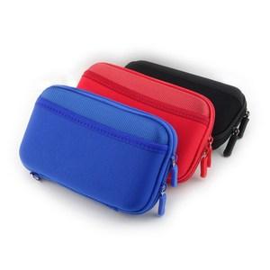 【PUSH!】3C隨身用品包硬碟保護套手機耳機包U44-1紅色