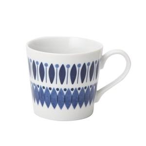 日本若藍系列馬克杯310ml 幾何