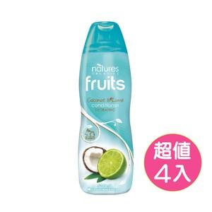【澳洲Natures Organics】植粹滋養洗髮精-萊姆椰子500mlx4入