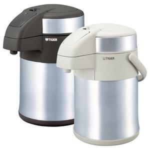 【TIGER 虎牌】2.2L氣壓式不銹鋼保溫熱水瓶 MAA-A222XW白色