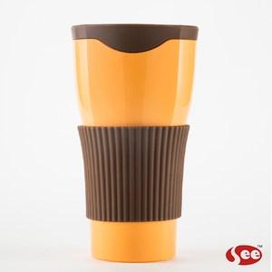 【S.E.E.】Tefee Cup隨行杯380ml(橘)