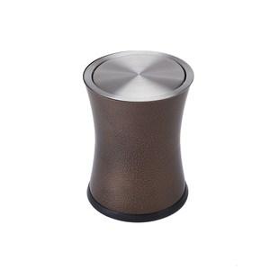 HOLA 摩洛哥不鏽鋼搖蓋垃圾桶6L 銅