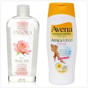 原裝ANFORA安芙拉玫瑰果油(8.5oz)*1+西班Avena艾微娜美腿修護乳