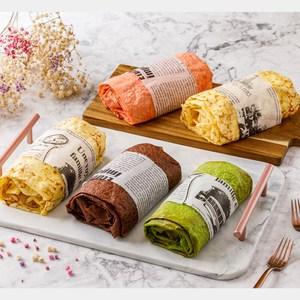艾波索【法式蛋糕千層捲】口味任選-生乳/巧克力/雙莓/抹茶生乳