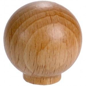 圓形櫸木取手30mm (6pc/包)