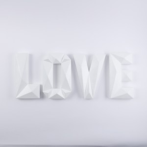 LOVE字母裝飾四入組