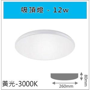 HONEY COMB 經典12W吸頂燈 黃光 TAC310-3
