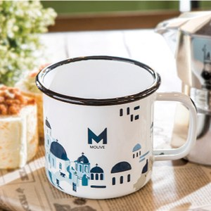 【MOUVE】米克諾斯巷弄琺瑯杯