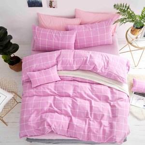 TRONlife好床生活 水洗純棉四件式兩用被床包組 擁抱雙人