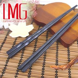 【LMG】抗菌尖頭合金筷(10雙)六角尖頭
