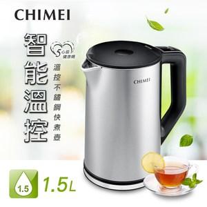 CHIMEI奇美 1.5L五心級溫控不鏽鋼快煮壺