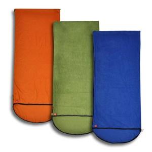 【PUSH】全開式四季 睡袋 內膽 空調被P27橙色