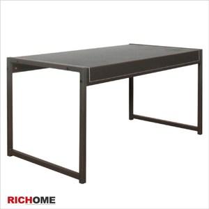 【RICHOME】ID格倫皮面時尚茶几桌