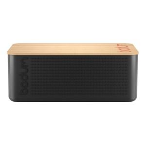 丹麥BODUM BISTRO大麵包盒(附砧板)-兩色可選黑