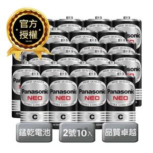 Panasonic 國際牌碳鋅電池2號 10入