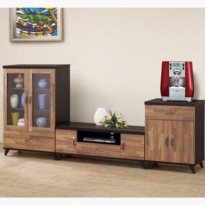 【obis】積層木8.6尺L型櫃(積層木 8.6尺 L型櫃 電視櫃)
