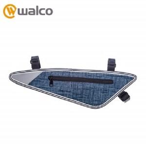 Walco 單車反光上管三角包-丹寧款