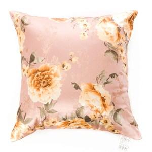 花舞抱枕 45x45cm 玫瑰粉