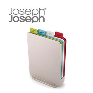 Joseph Joseph 檔案夾直立式砧板組 銀