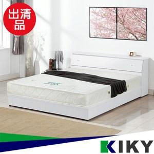 庫存品出清-【KIKY】麗莎單人加大3.5尺床頭箱(純白色)