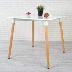 Homelike 瑟芝北歐風餐桌(亮麗白)