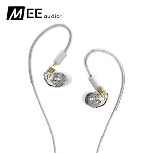 MEE audio M7 Pro 混合式雙單體監聽耳機透明