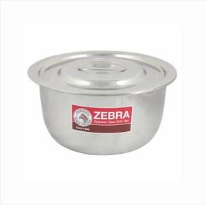 ZEBRA斑馬牌不銹鋼調理湯鍋14cm可當內鍋平蓋設計