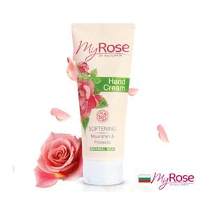 保加利亞My rose玫瑰保濕透白護手霜75ml