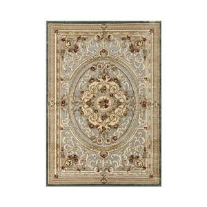 維羅納立體厚絲毯100x140cm 羅浮藍