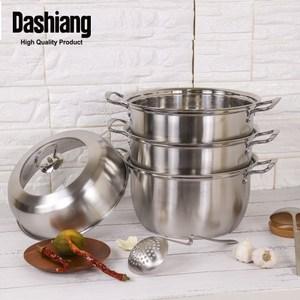 【Dashiang】304不鏽鋼多用湯蒸鍋-26CM