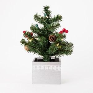 LED盆栽樹 銀色
