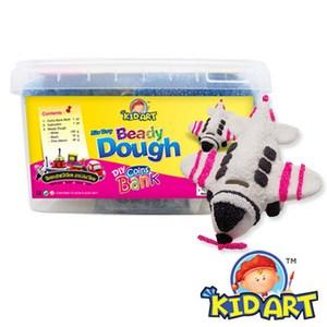 KID ART 美國創意手作黏土 豆子麵團(戰鬥機)