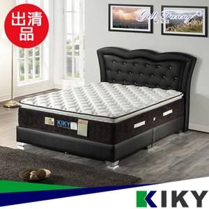 庫存品出清-【KIKY】二代永恆之星護背三線機能型單人3尺床墊