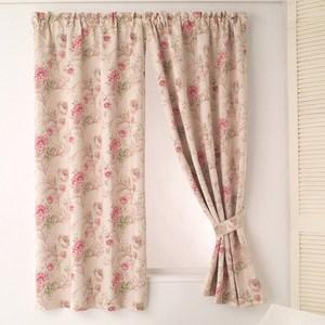 【三房兩廳】玫瑰花園節能遮光窗簾-200X165cm
