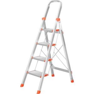 TRENY 大踏板 四階鋁梯