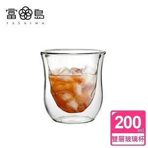 【FUSHIMA 富島】星宸系列雙層耐熱玻璃杯200ML