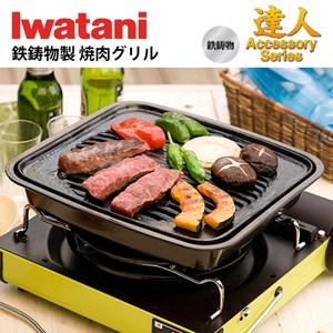 【Iwatani】日本岩谷鑄鐵牛排烤盤 CB-P-GM(烤盤)