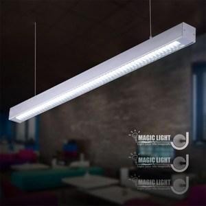 【光的魔法師 】辦公照明燈具 現代簡約LED用辦公燈具(銀色格柵款)