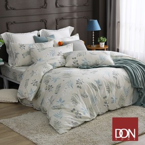 【DON輕語清晨】加大四件式吸濕排汗天絲兩用被床包組