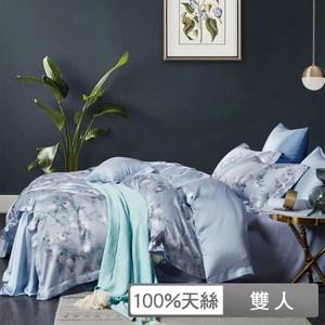 【貝兒居家寢飾生活館】頂級100%天絲鋪棉涼被床包組(雙人/桑榆)