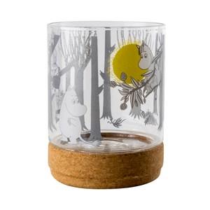 Muurla 嚕嚕米玻璃儲物罐 月亮
