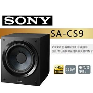 SONY 索尼 SA-CS9 重低音喇叭