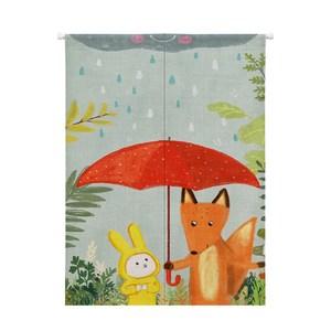 HONEY COMB狐狸與兔門簾 風水簾GT-3666