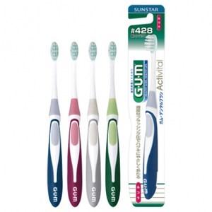 GUM牙周護理多功能牙刷中性毛 428 (混色)