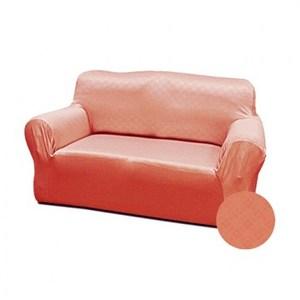 現代格紋彈性沙發套桔1人
