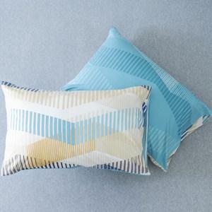 HOLA 尼斯純棉美式枕套 2入