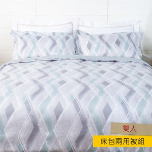 HOLA 曼瑟天絲床包兩用被組 雙人