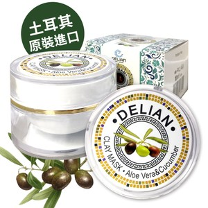【DELIAN】純橄欖泥靜膚面膜100ml